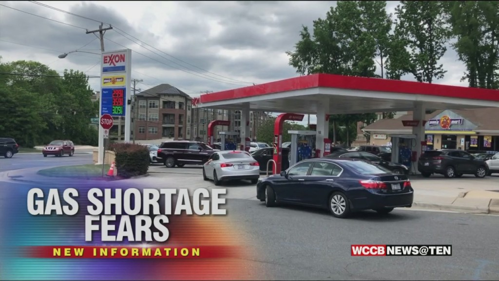 Charlotte Drivers Waiting In Long Lines For Gas Or Finding Pumps Covered