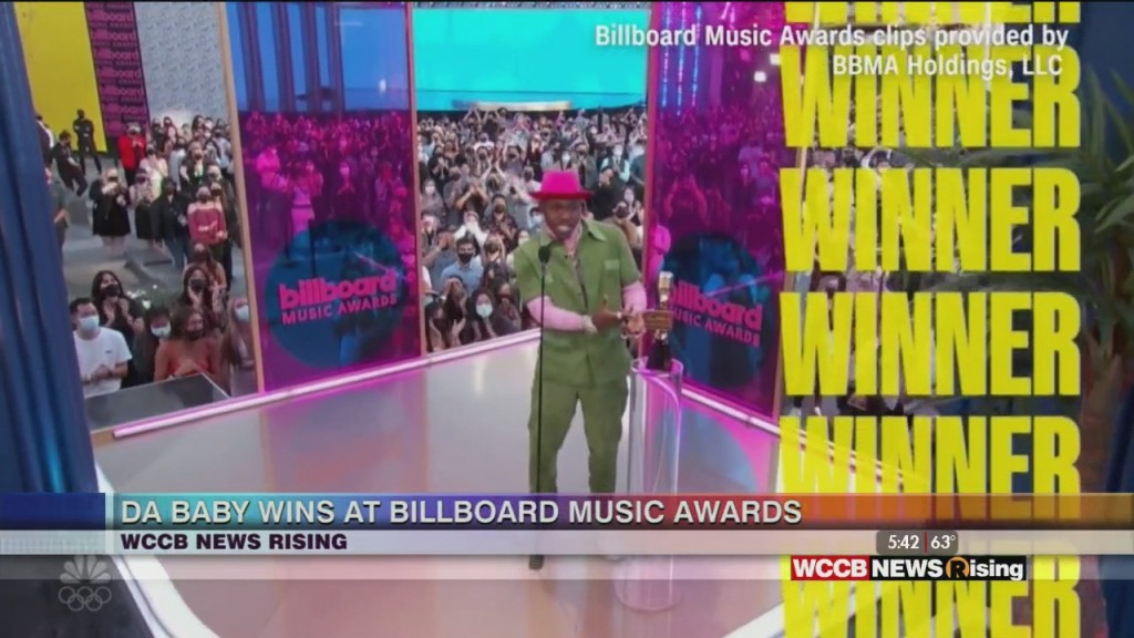 """da Baby"" Wins Top Rap Song At Billboard Awards"