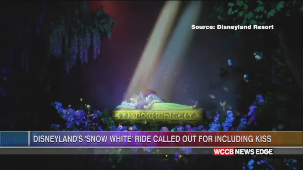 Disney's Snow White Ride Criticized For Non Consensual Kiss Scene