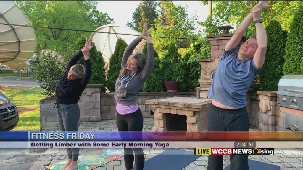 Fitness Friday: 3 Minute Yoga Flow