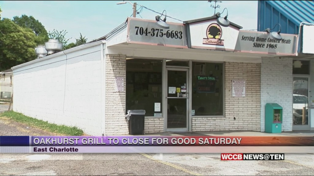 Oakhurst Grill Closing Its Doors After Over 50 Years