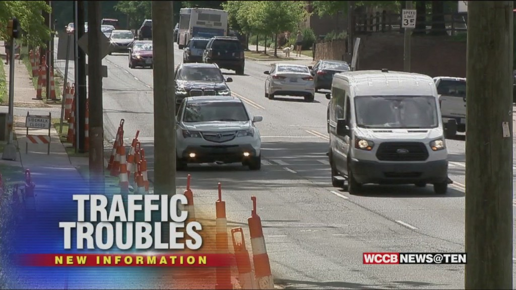 Businesses Prepare For Reduced Lanes In Plaza Midwood For Stormwater Pipe Installation