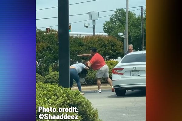 Man And Woman Charged After Fight Breaks Out In Gas Line At Raleigh Gas Station Video