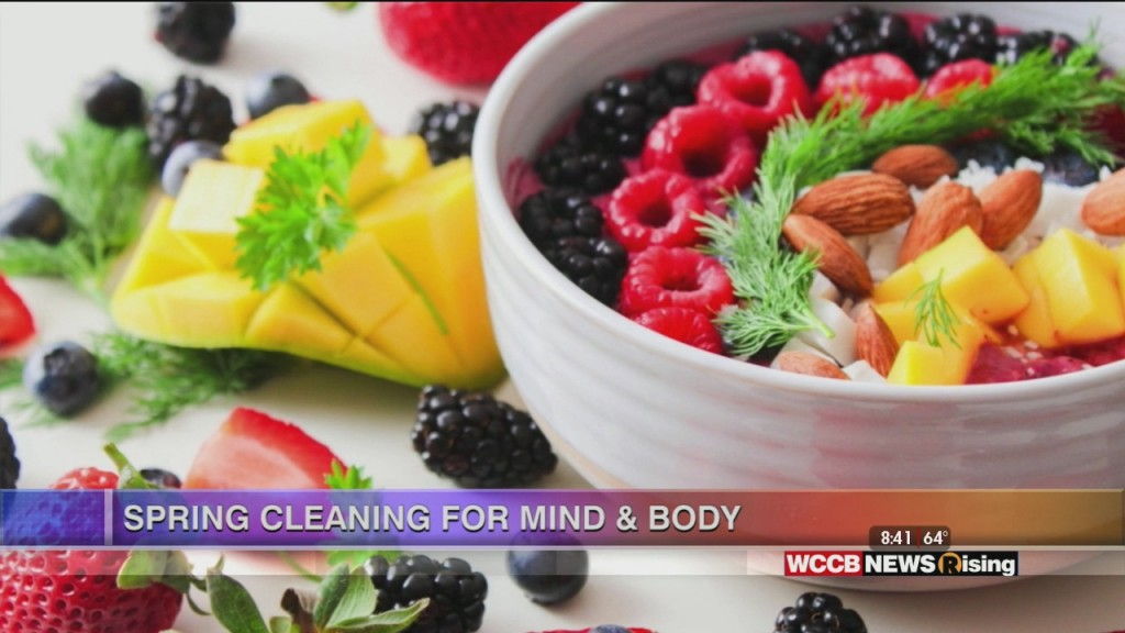 Healthy Headlines: Spring Cleaning For Body And Mind