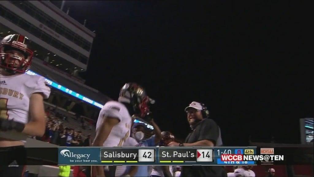 Salisbury Wins 2aa State Championship