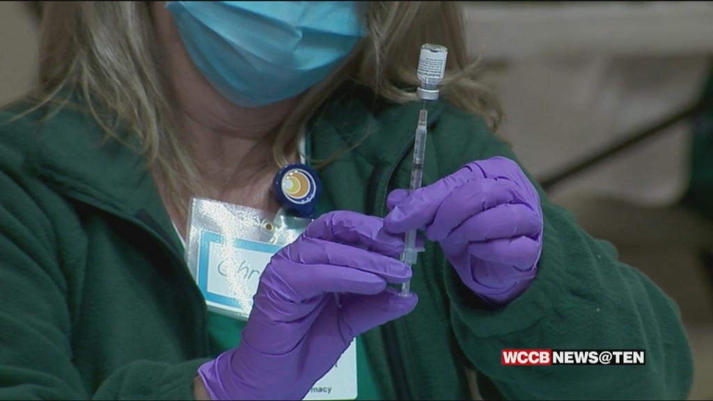 Charlotte Area Hospital Systems Prepare To Vaccinate Children Ages 12 15