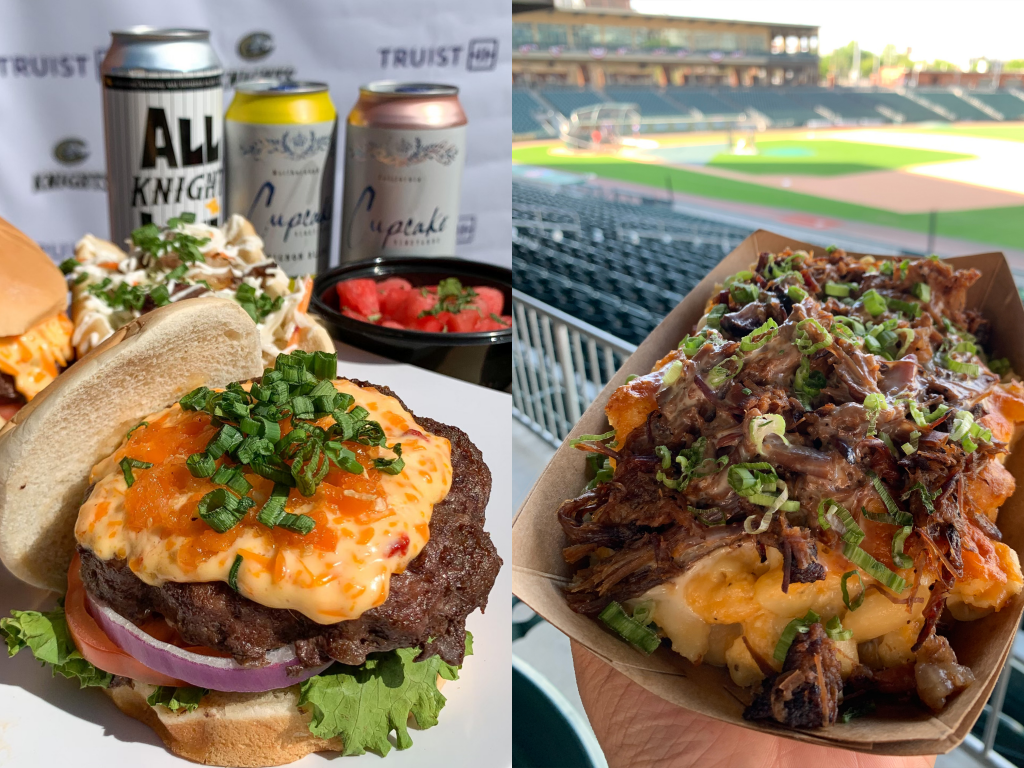 Tasty bites at the Charlotte Knights