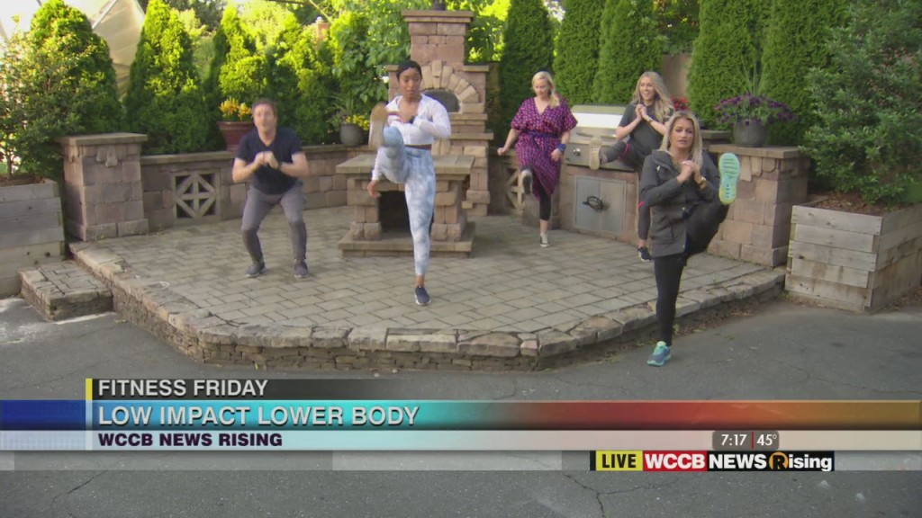 Fitness Friday: Low Impact Lower Body