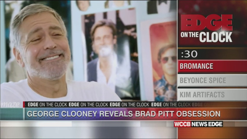 Clooney's Big Love For Brad