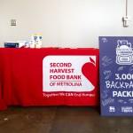 Hornets Backback For Hunger Food Lion Second Harvest Food Bank 4 28 2021 By Jon Strayhorn
