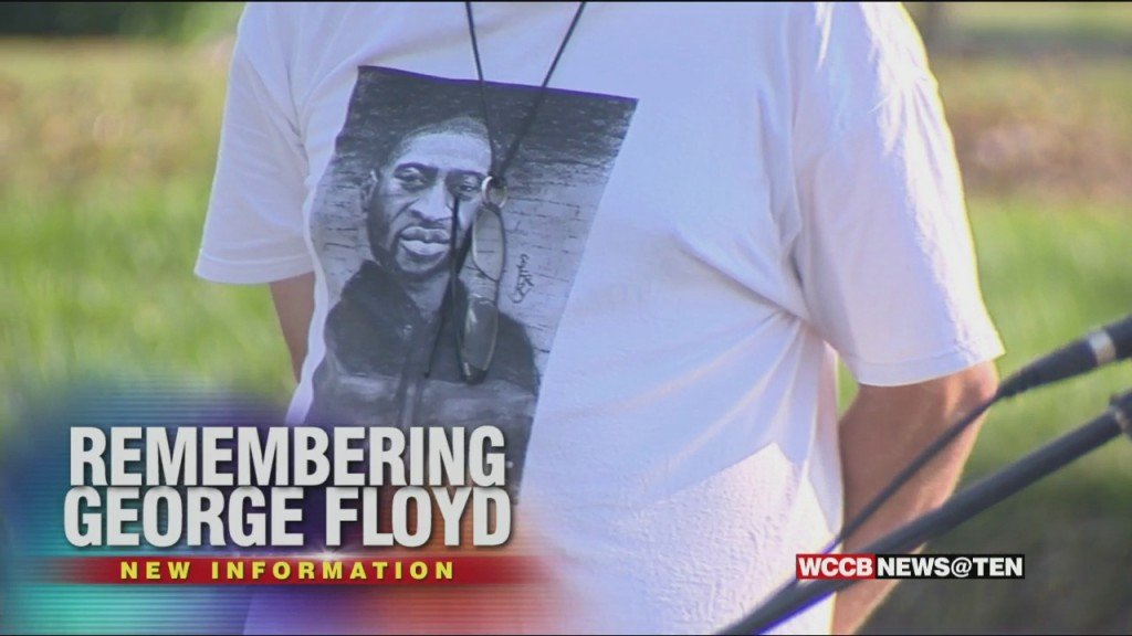 At Local Rally Remembering George Floyd, Frustration Over Lack Of Police Reform