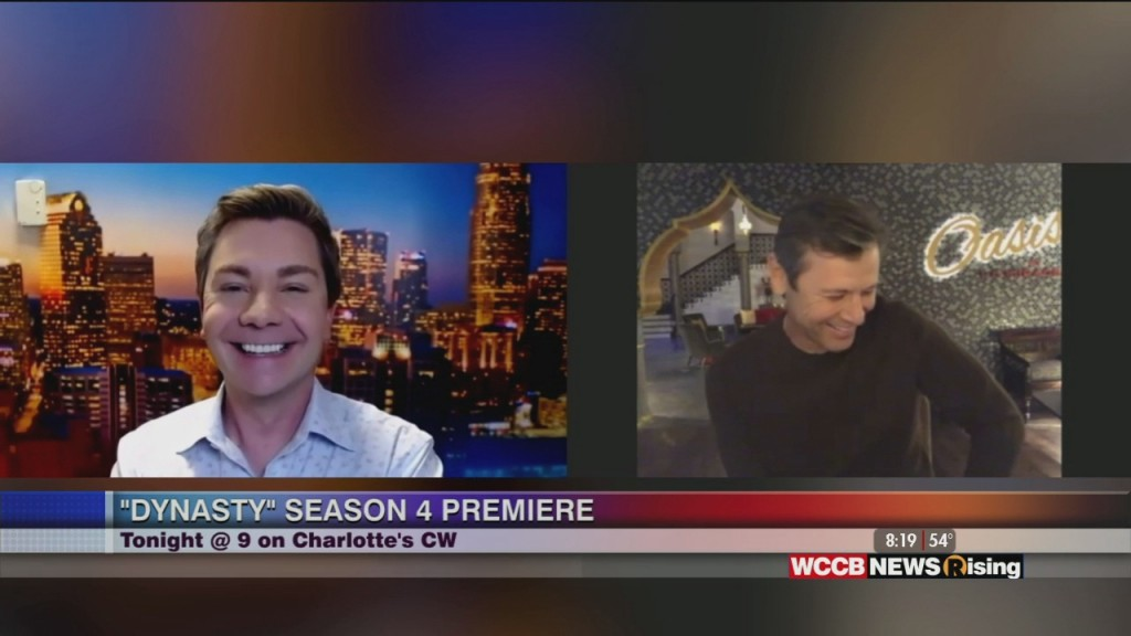 Dynasty's Grant Show Talks Season 4