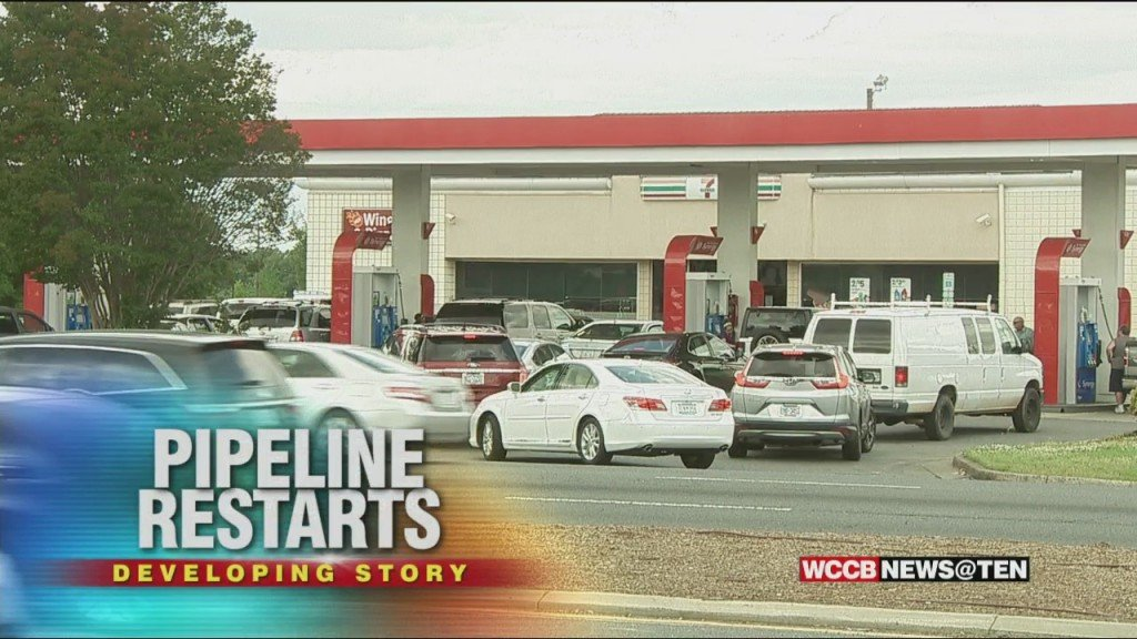 Will Pipeline Restart Lead To Less Panic Buying Of Gasoline?