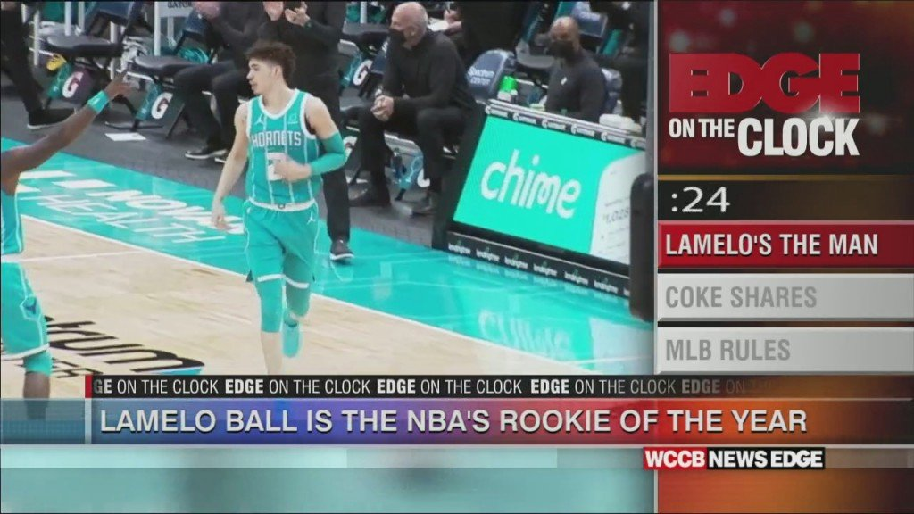 Lamelo Named Rookie Of The Year