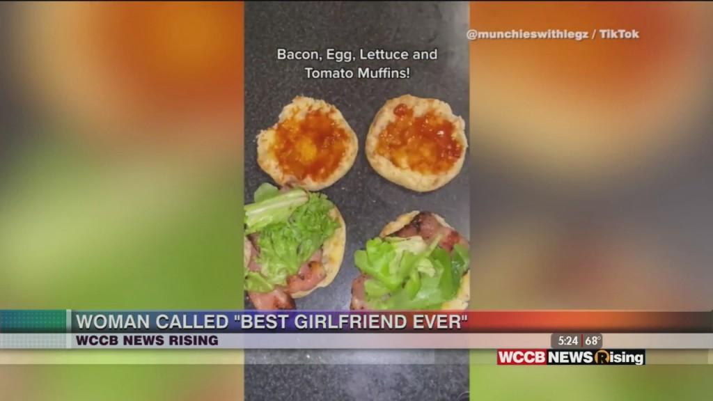 "Woman Earns ""best Girlfriend Ever"" Title"