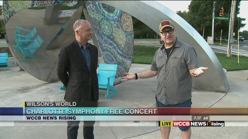 Wilson's World: Charlotte Symphony's Free Concert