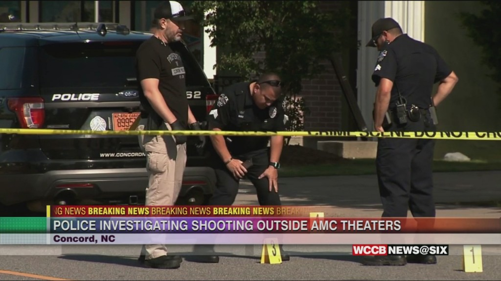 Concord Police Investigate Shooting At Amc Concord Mills