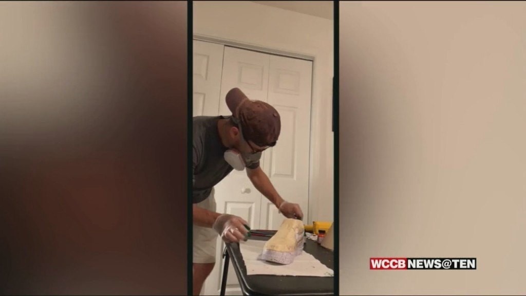 He Started Painting Old Sneakers To Fight Off Boredom During The Pandemic Now A Charlotte Man Is Doing That For The Famous
