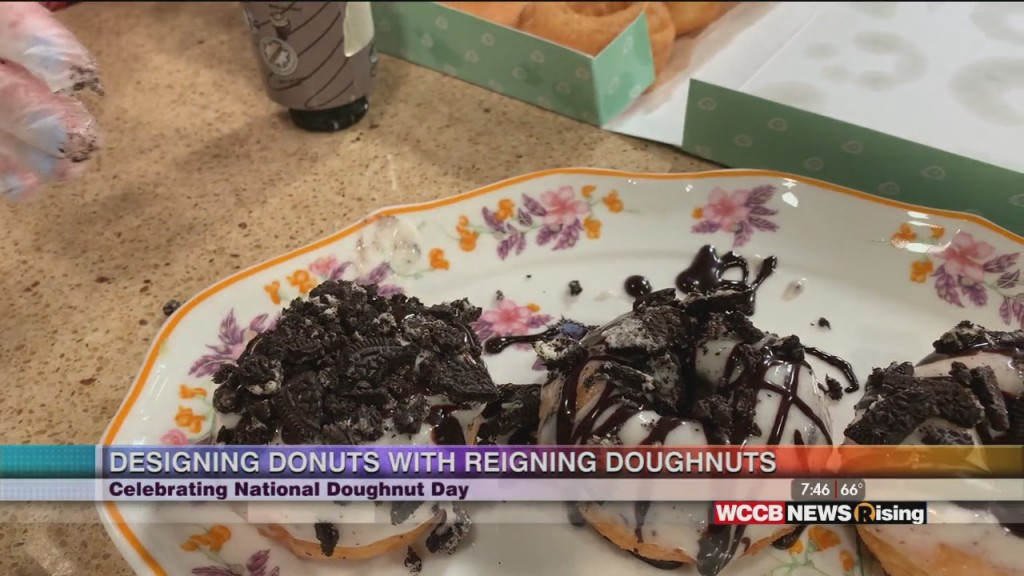 National Donut Day With Reigning Doughnuts
