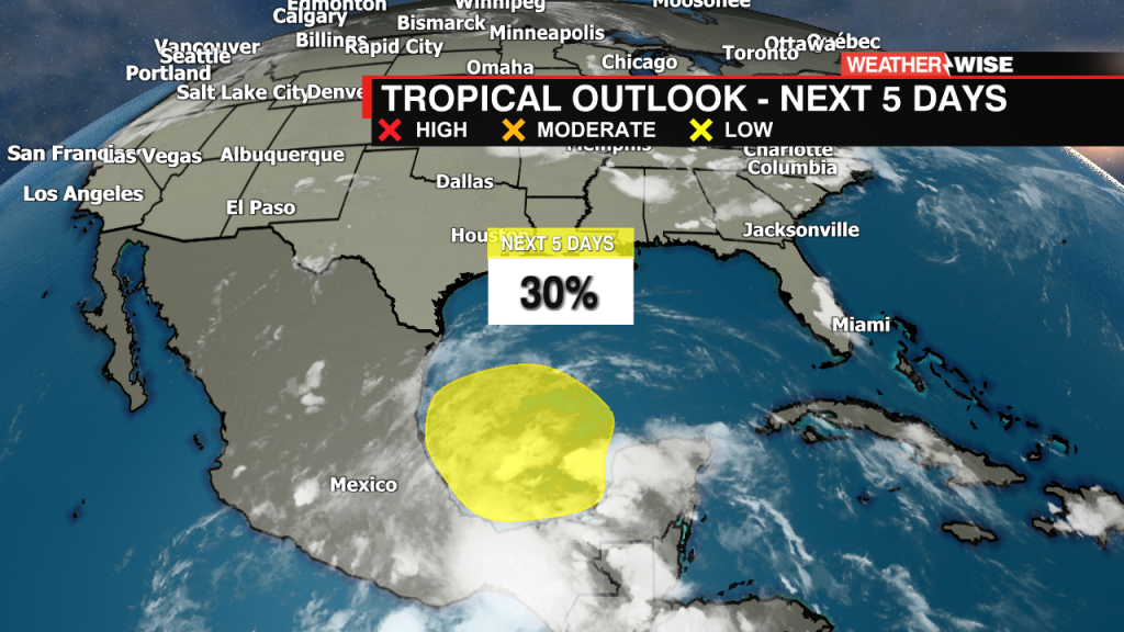 Tropical Weather Outlook Kml 1pm