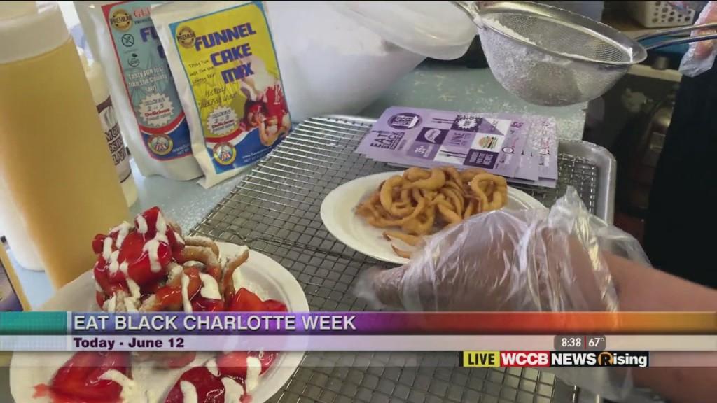 Eat Black Charlotte Week: Funoh Cakes