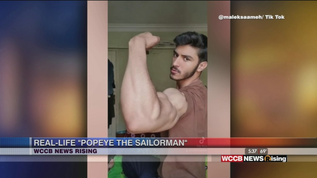 """College Student Becoming Known As """"popeye The Sailorman"""""""