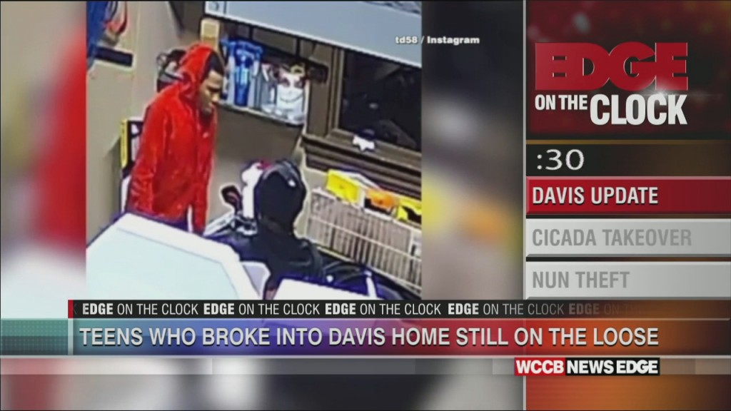 Edge On The Clock: 2 Teen Suspects Wanted In Thomas Davis Home Break In