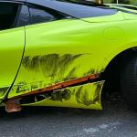 Thomas Davis Vehicle Stolen And Crashed Pic 4