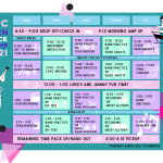 Teen Rock Camp Week 2 Schedule Revised 1