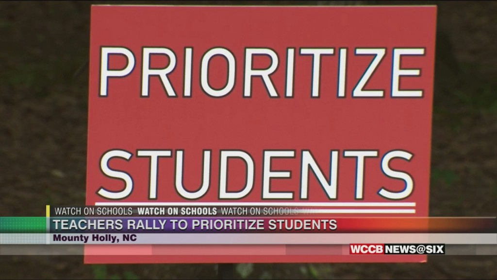 Gaston County Calls For Students First