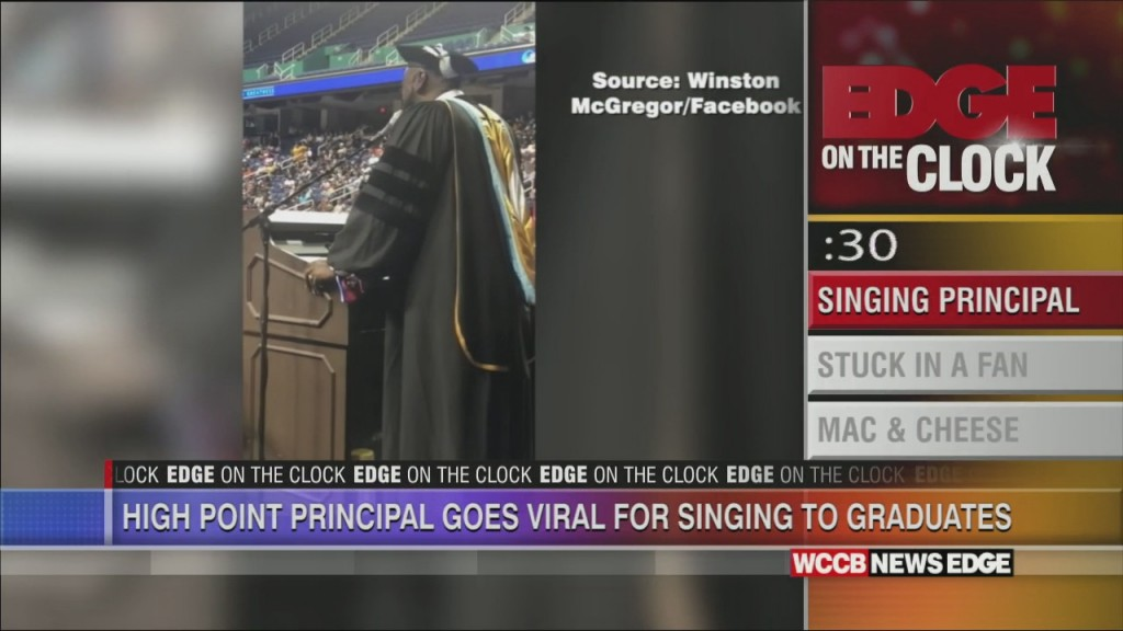 Prinicpal Goes Viral For Singing To Students