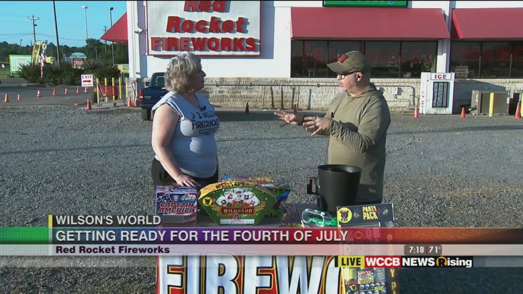 Wilson's World: Red Rocket Fireworks