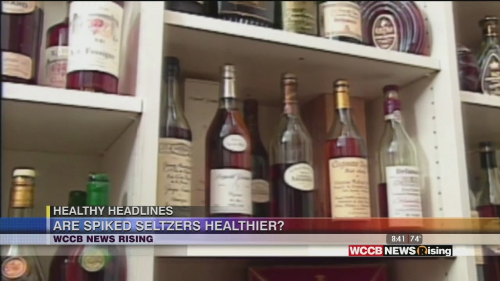 Healthy Headlines: Are Spiked Seltzers Healthier?