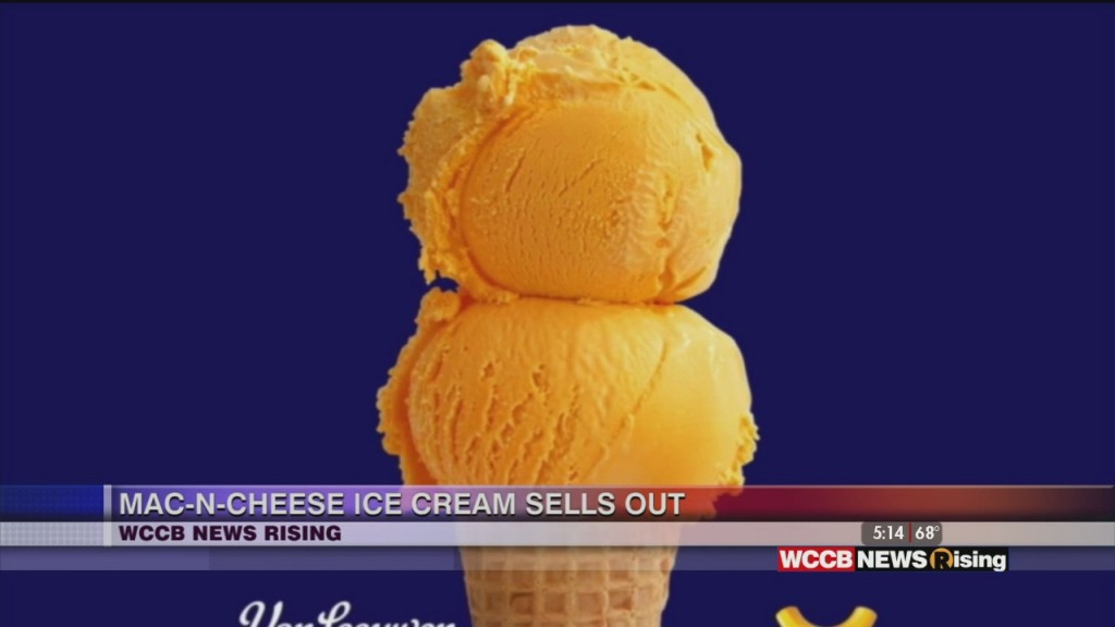 Mac N Cheese Ice Cream Sold Out