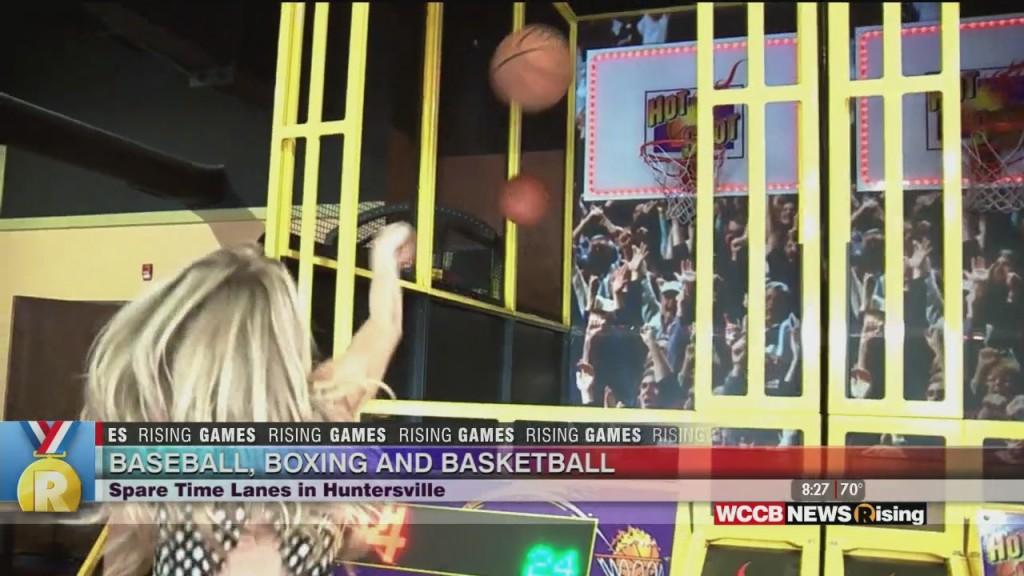 Rising Games: Baseball, Boxing & Basketball At Spare Time Entertainment