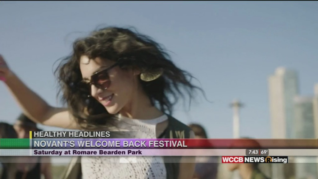 Healthy Headlines: Welcome Back Festival