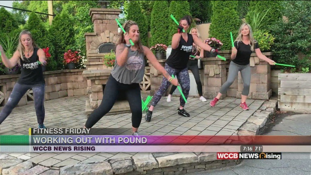 Fitness Friday: Working Out With Pound
