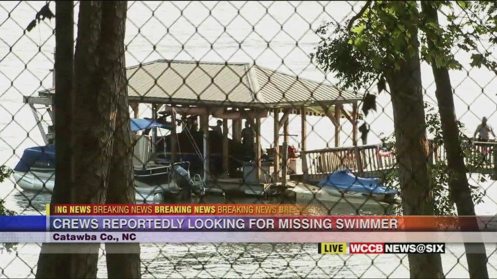 Crews Recover Body Of Missing Swimmer On Lake Norman In Catawba Co.
