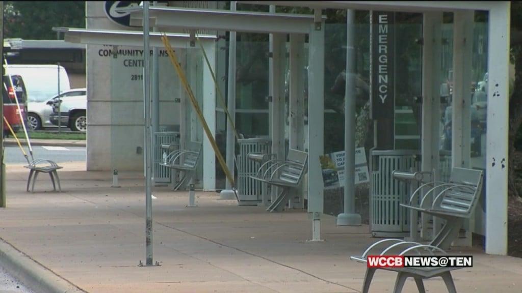 'random' Assault At West Charlotte Bus Stop Caught On Camera