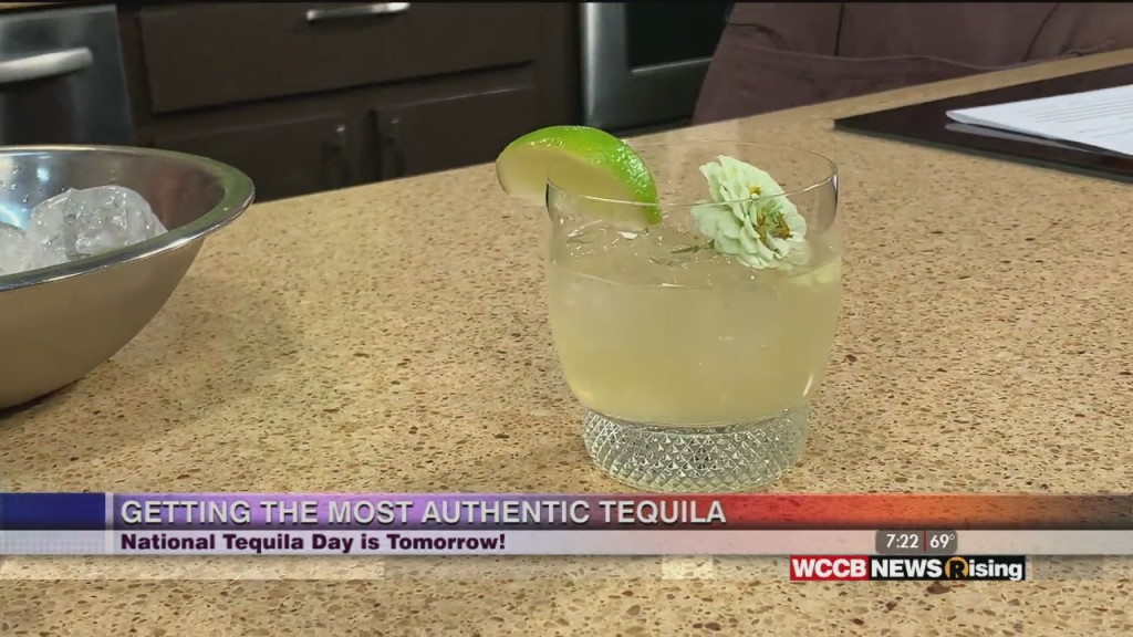 Mixing Up A Margarita For National Tequila Day