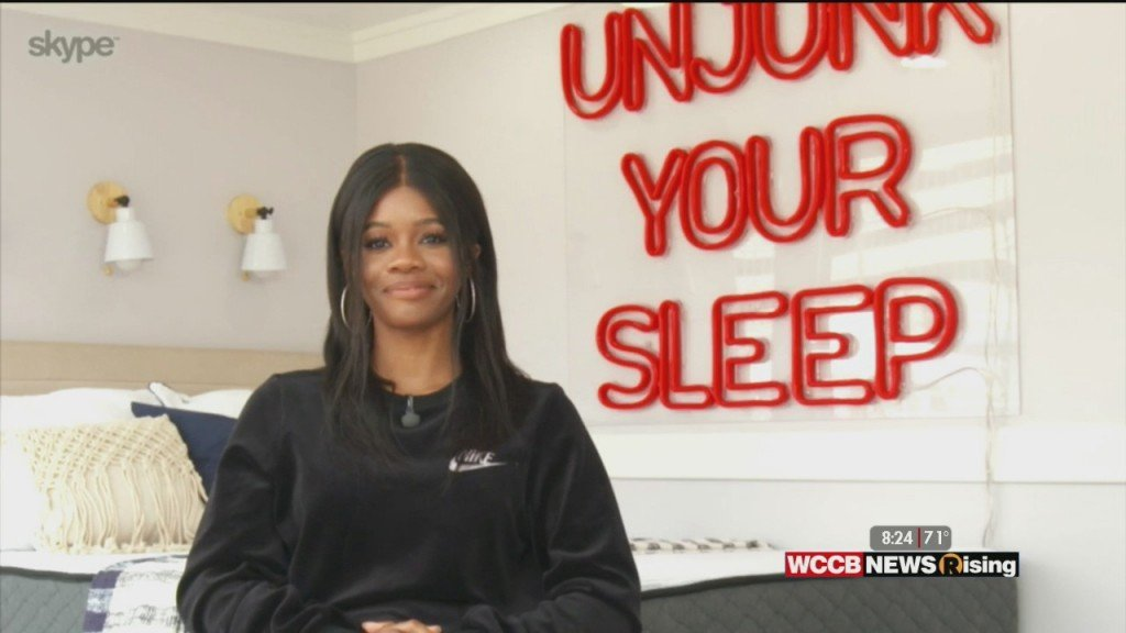 Gabby Douglas Talks Sleep Benefits And More