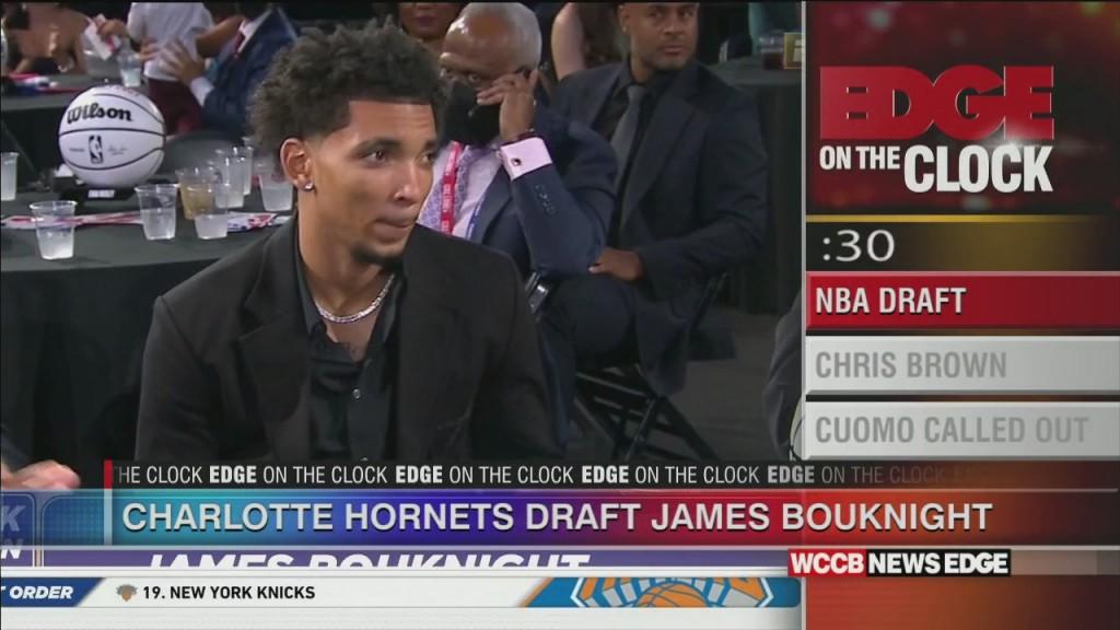 Hornets Draft Bouknight