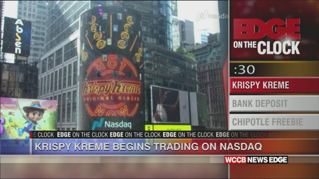 Krispy Kreme Hits The Stock Market