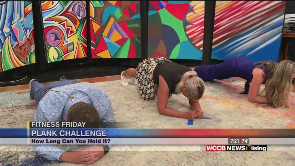 Fitness Friday: Plank Challenge