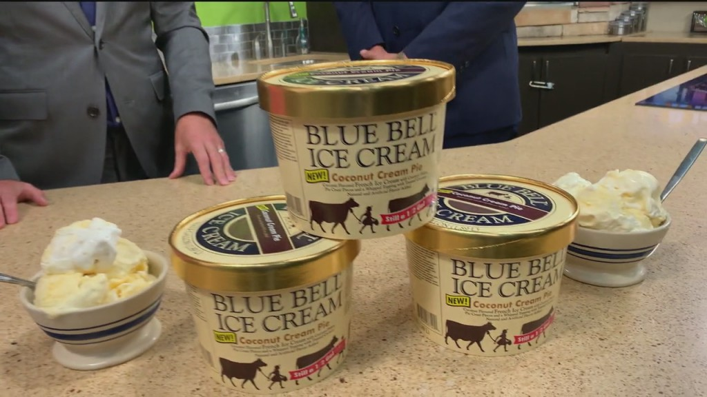 Rising Spotlight: Blue Bell Features New Coconut Cream Pie Flavored Ice Cream For National Ice Cream Month
