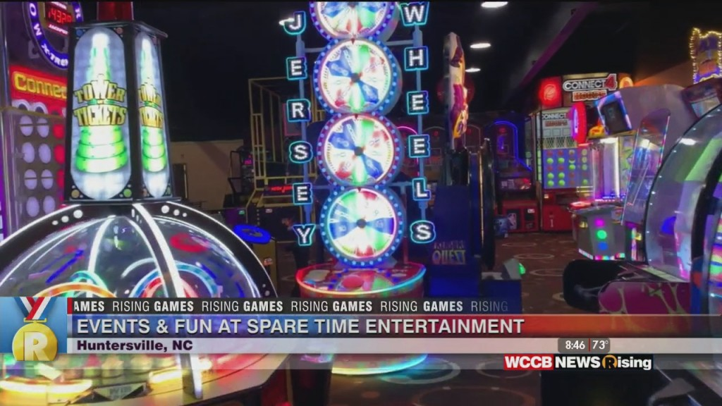 Rising Games: Events & Fun At Spare Time Entertainment