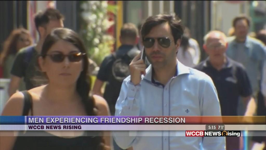 Men Experiencing Friendship Shortage