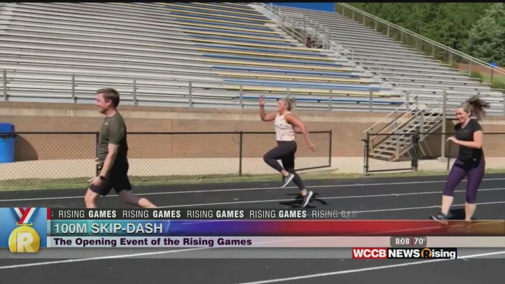 The Rising Games: 100m Skip Dash