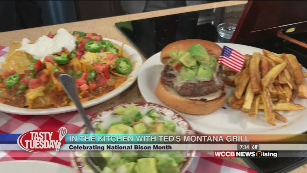 Tasty Tuesday: Bison Burgers With Ted's Montana Grill