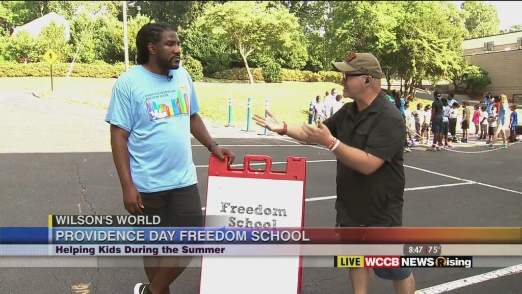 Wilson's World: Providence Day Freedom School